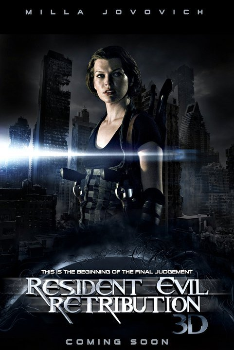 Resident Evil: Retribution - Movie Poster #2 (Original)