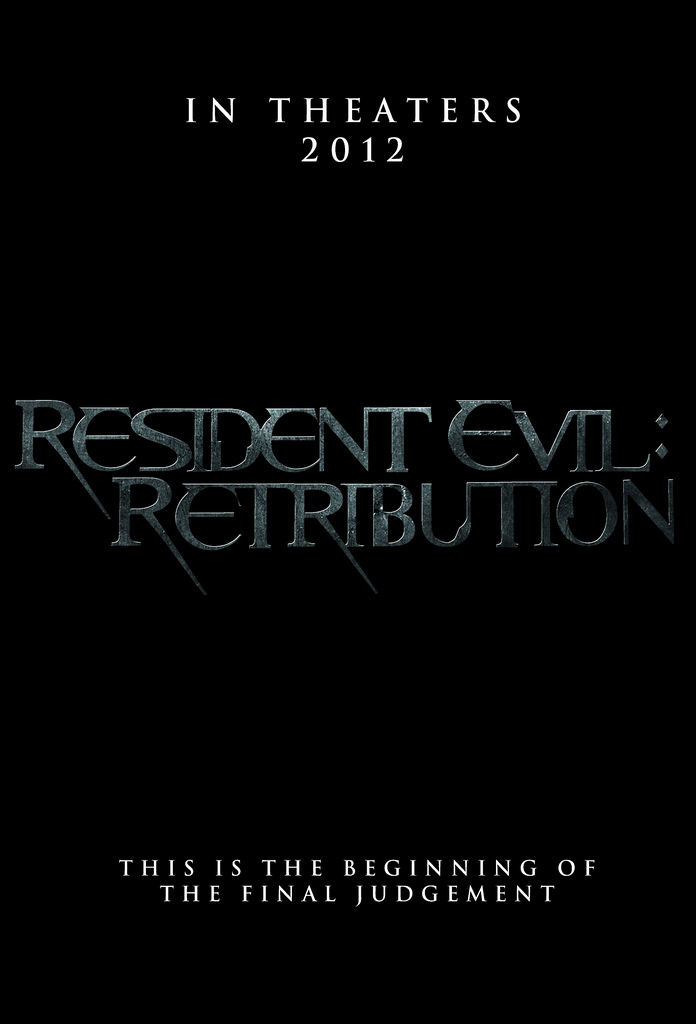 Resident Evil: Retribution - Movie Poster #3 (Original)