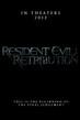 Resident Evil: Retribution - Tiny Poster #3