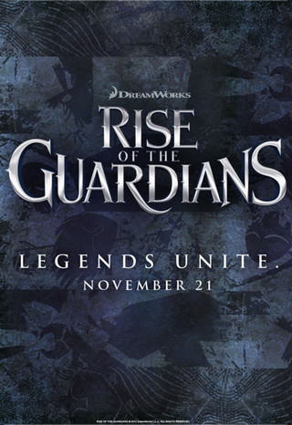 Rise of the Guardians - Movie Poster #1 (Small)