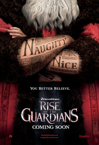 Rise of the Guardians - Movie Poster #3 (Small)