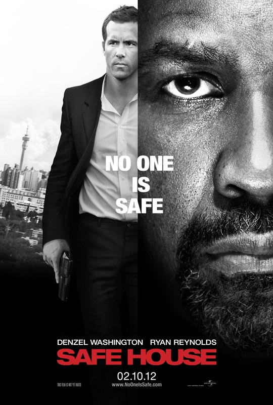 Safe House - Movie Poster #1 (Original)