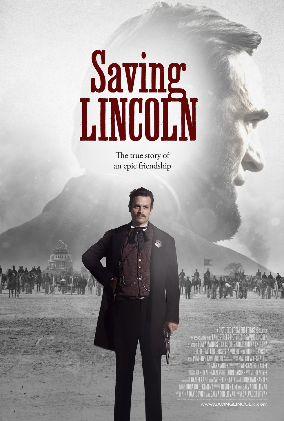 Saving Lincoln - Movie Poster #1 (Large)