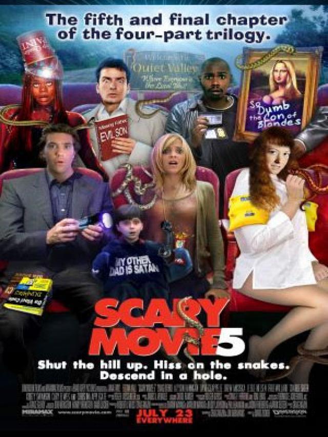 Scary Movie 5 - Movie Poster #2