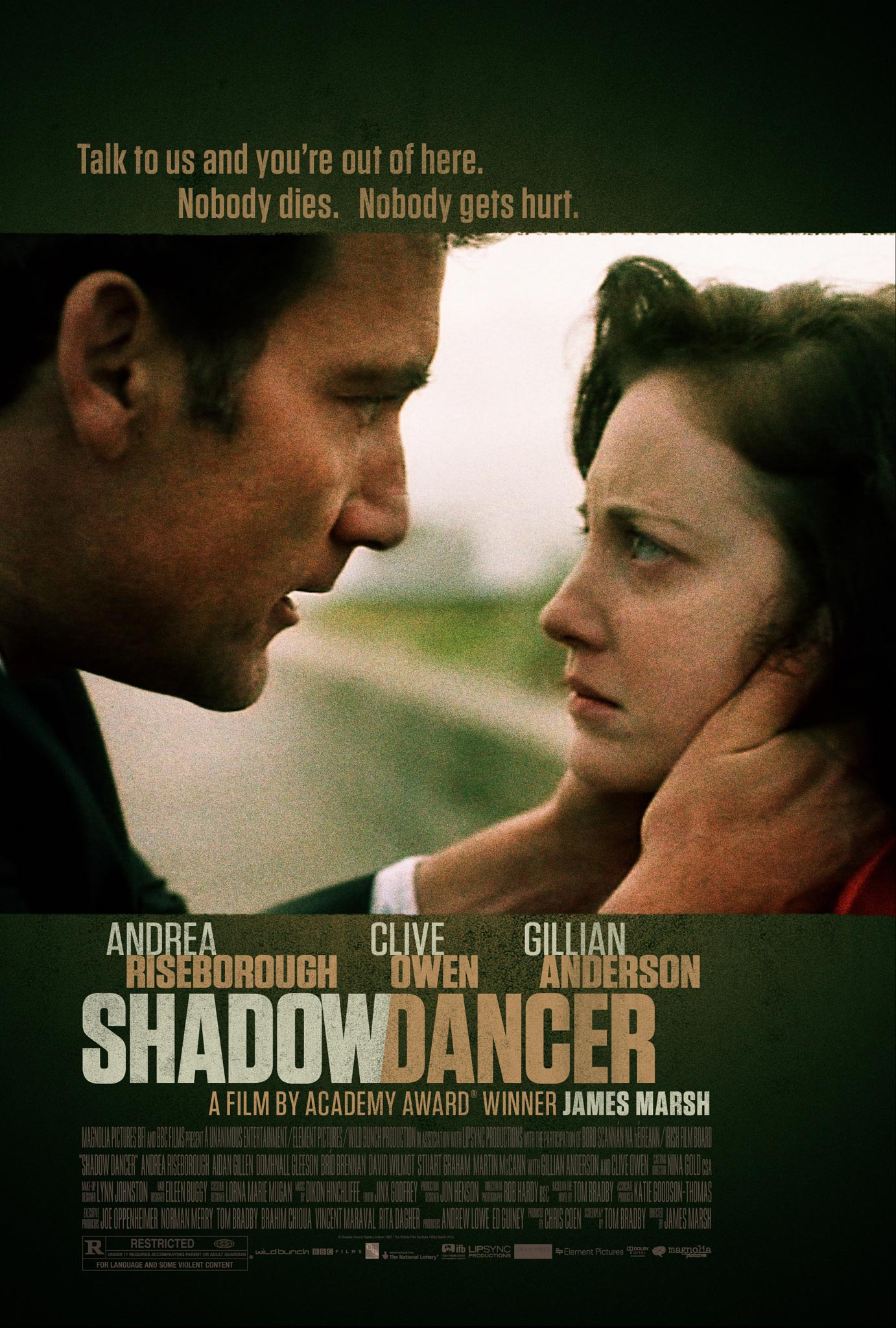 Shadow Dancer - Movie Poster #1 (Original)