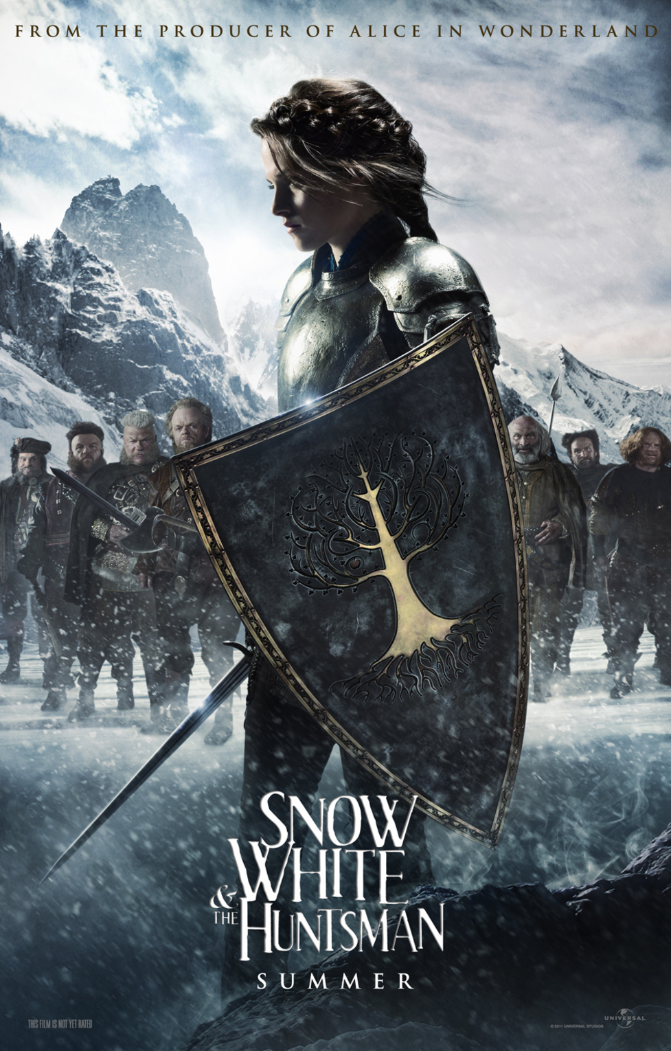 Snow White and the Huntsman - Movie Poster #1 (Original)