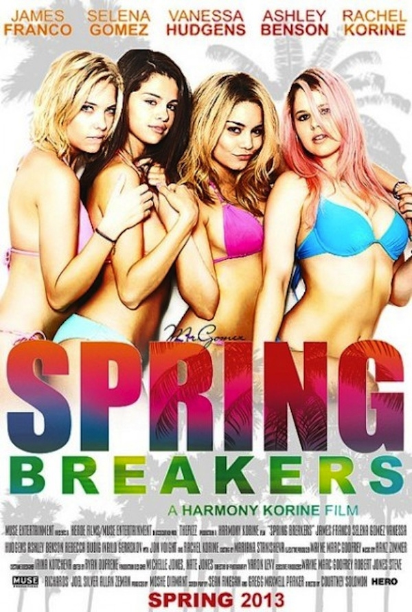 Spring Breakers - Movie Poster #10 (Original)