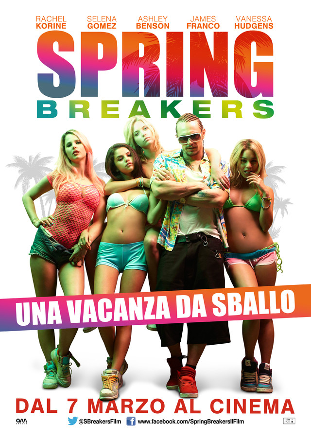 Spring Breakers - Movie Poster #13