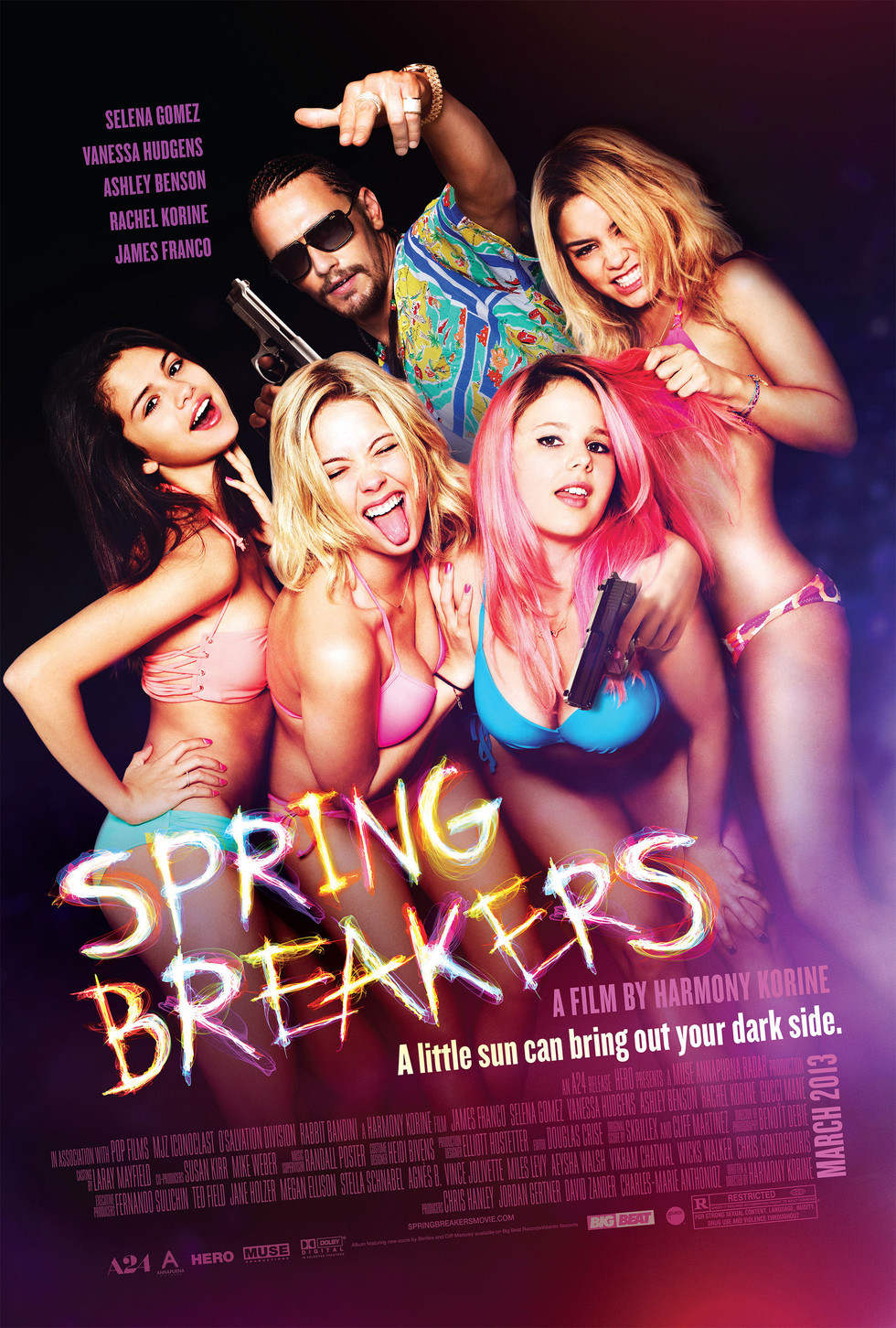 Spring Breakers - Movie Poster #2 (Large)