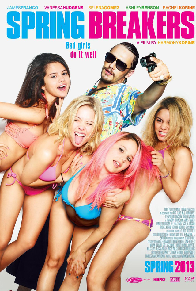 Spring Breakers - Movie Poster #3 (Medium)