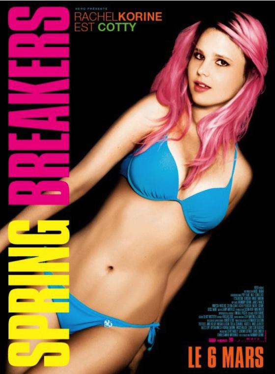 Spring Breakers - Movie Poster #7 (Original)