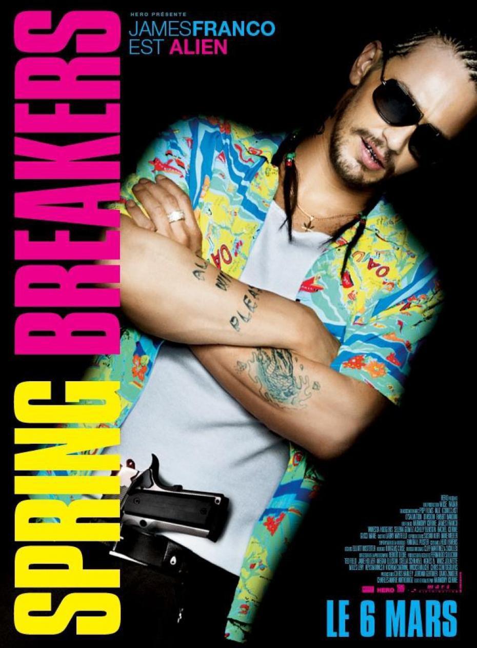 Spring Breakers - Movie Poster #8 (Original)