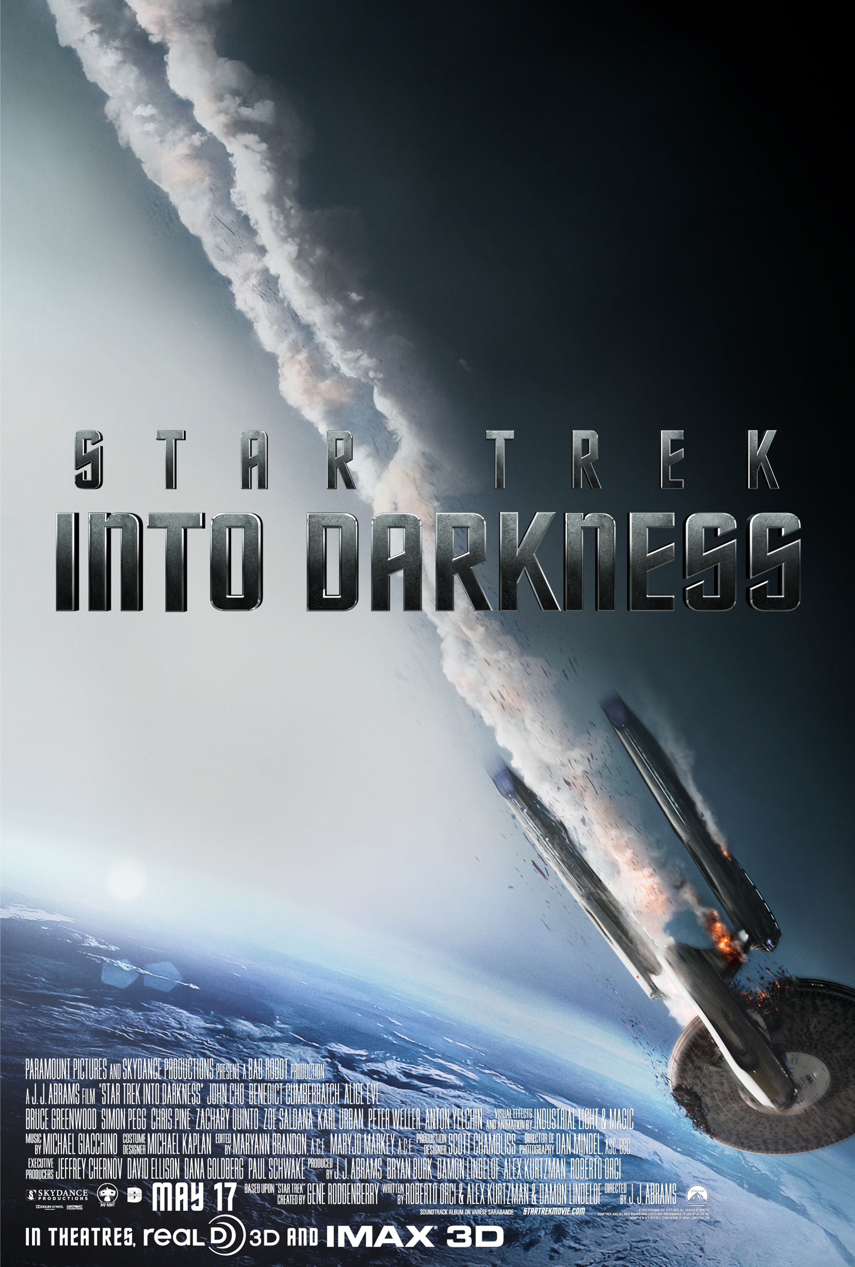Star Trek Into Darkness - Movie Poster #1 (Original)