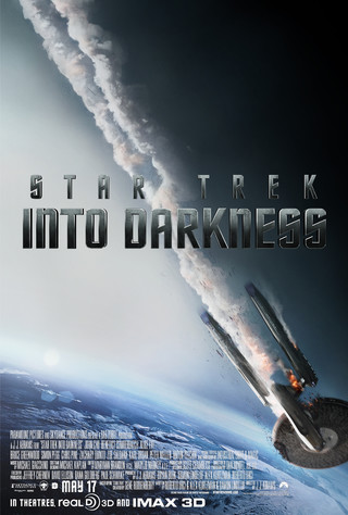 Star Trek Into Darkness - Movie Poster #1 (Small)