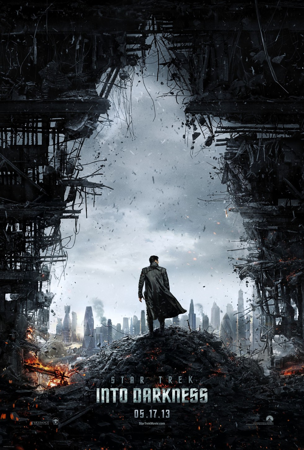 Star Trek Into Darkness - Movie Poster #3 (Large)