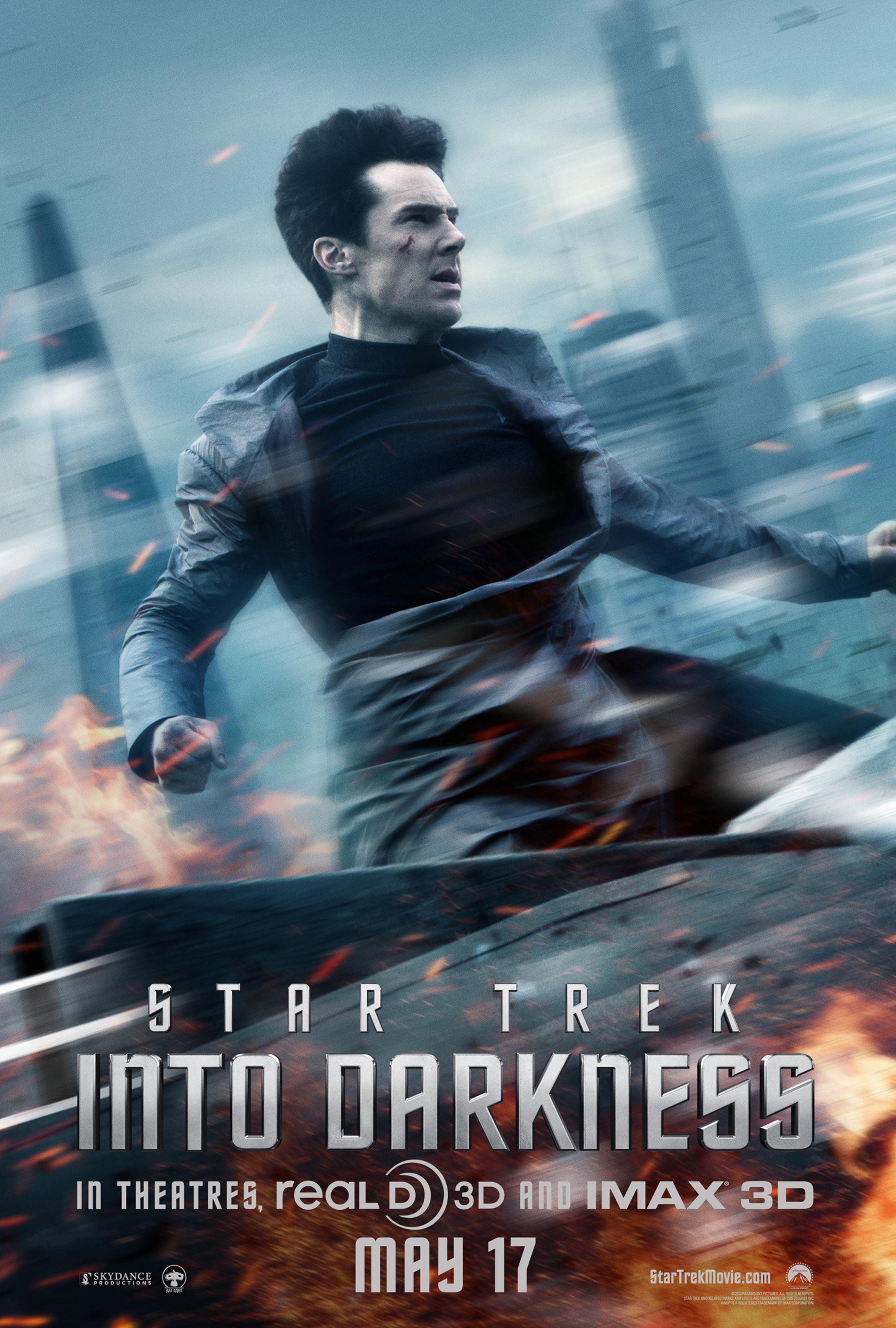 Star Trek Into Darkness - Movie Poster #4 (Original)