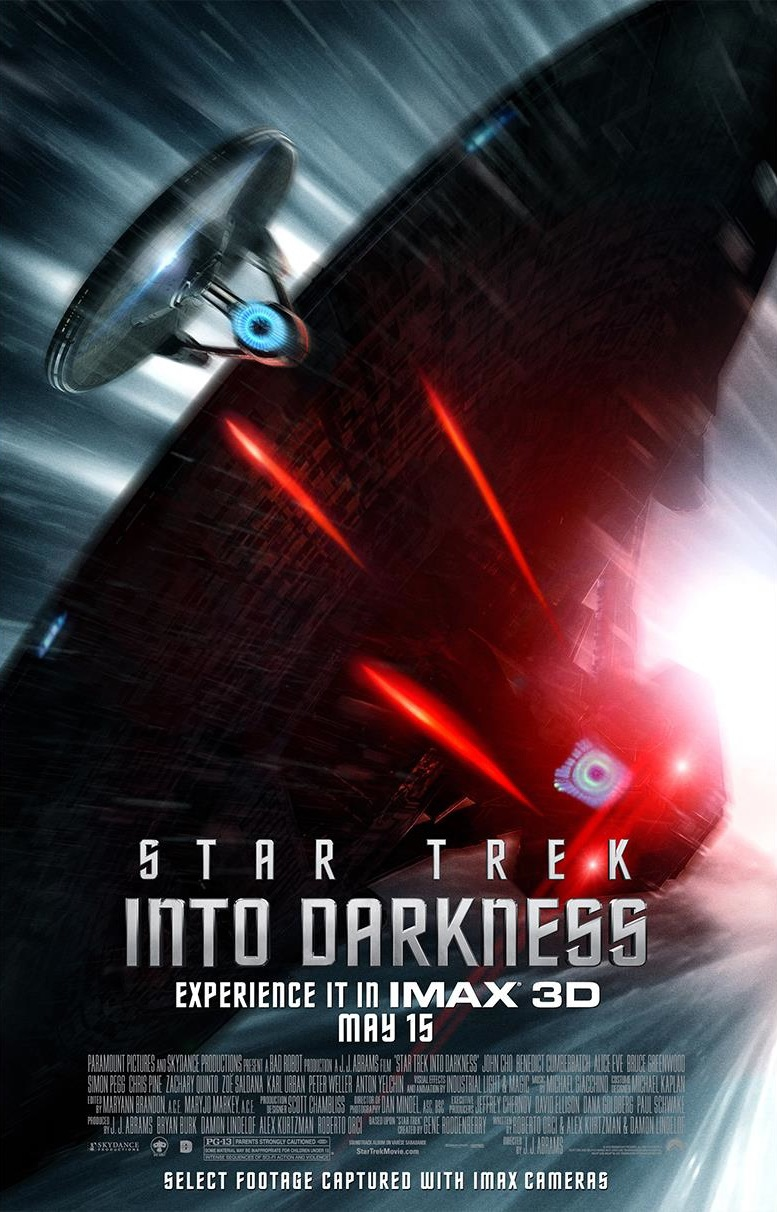 Star Trek Into Darkness - Movie Poster #9 (Original)