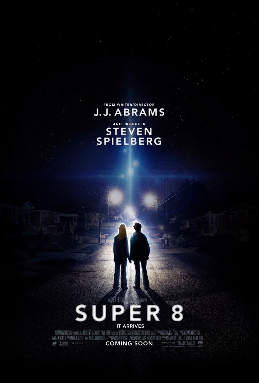 Super 8 - Movie Poster #1 (Large)