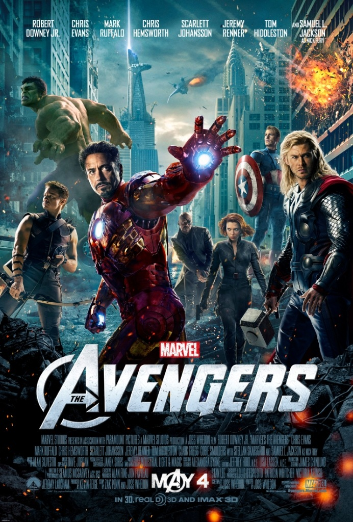 The Avengers - Movie Poster #1 (Original)