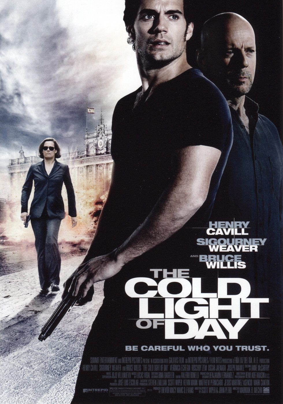 The Cold Light of Day - Movie Poster #1 (Large)