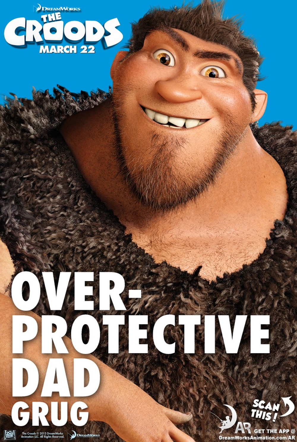 The Croods - Movie Poster #10 (Original)