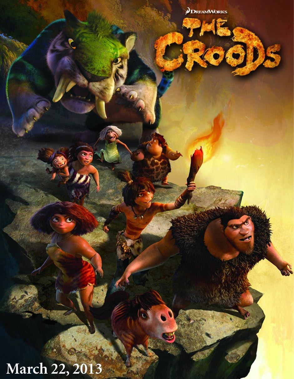 The Croods - Movie Poster #11 (Original)
