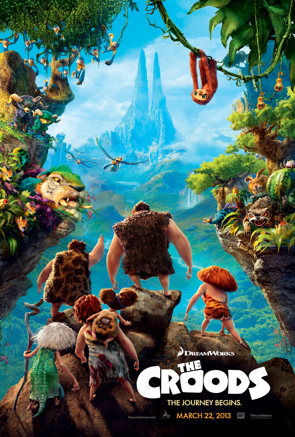 The Croods - Movie Poster #1 (Large)