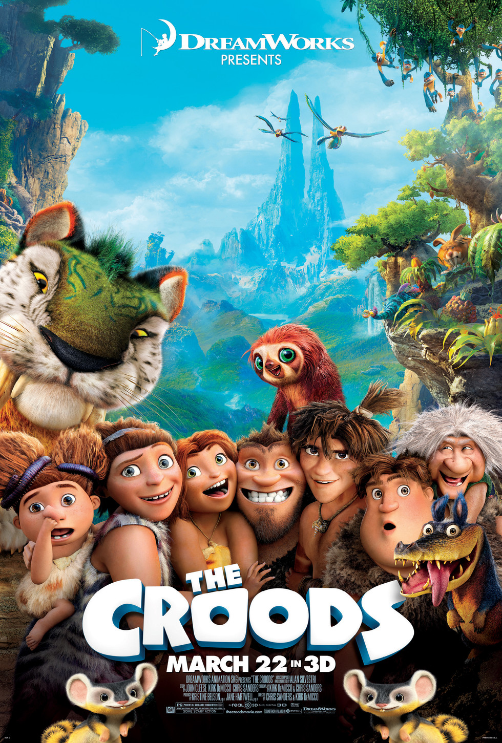 The Croods - Movie Poster #2 (Large)