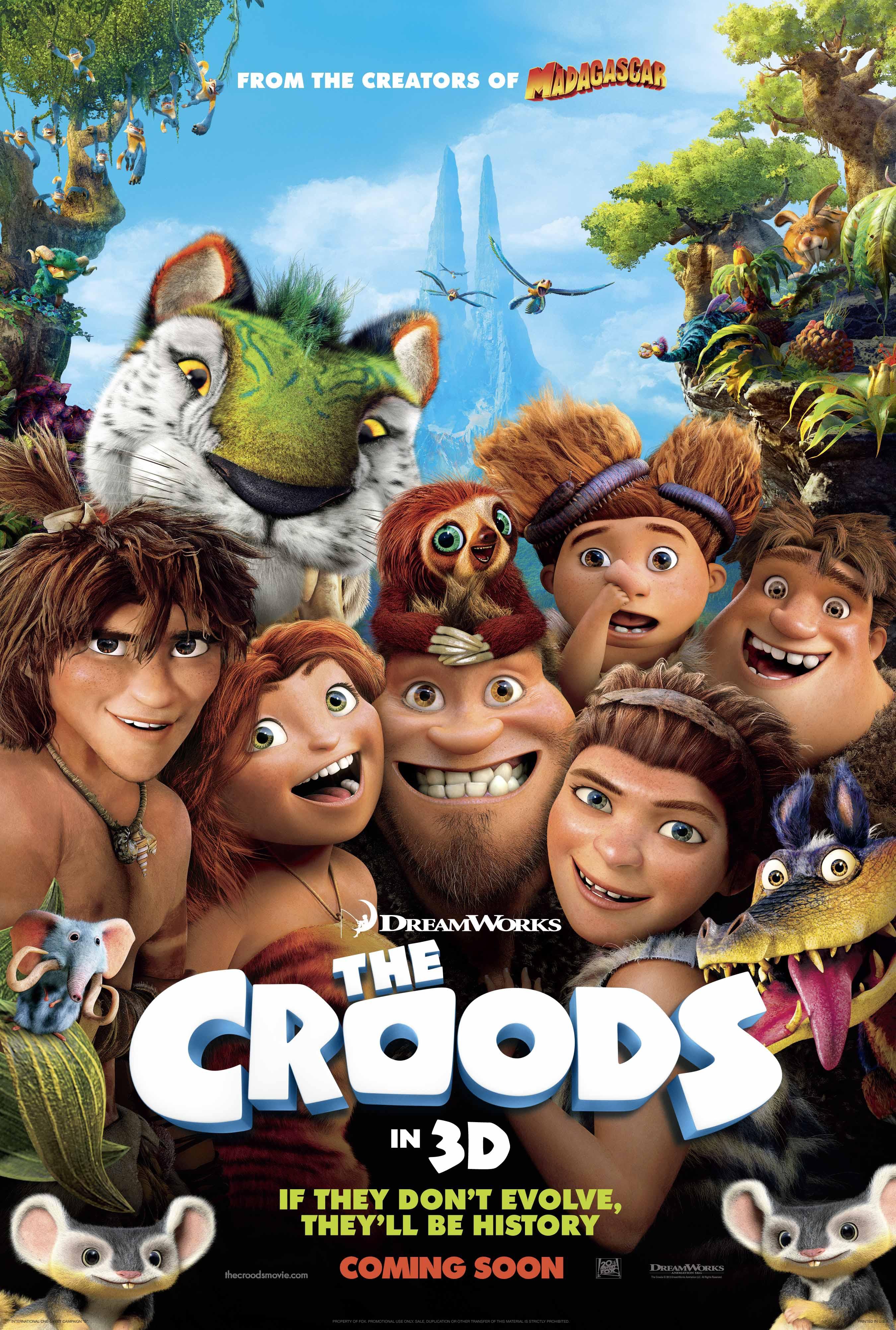 The Croods - Movie Poster #3 (Original)