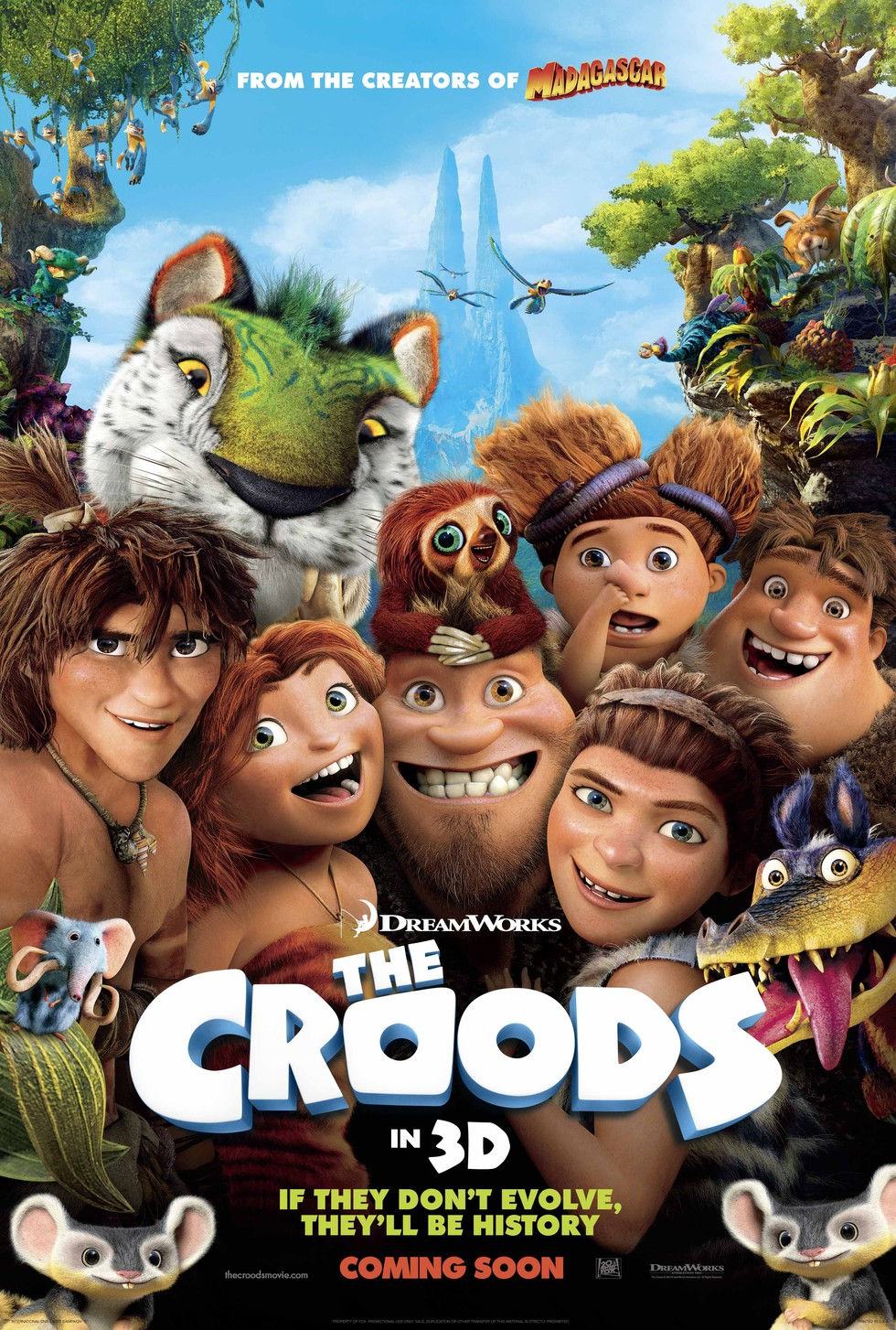 The Croods - Movie Poster #3 (Large)