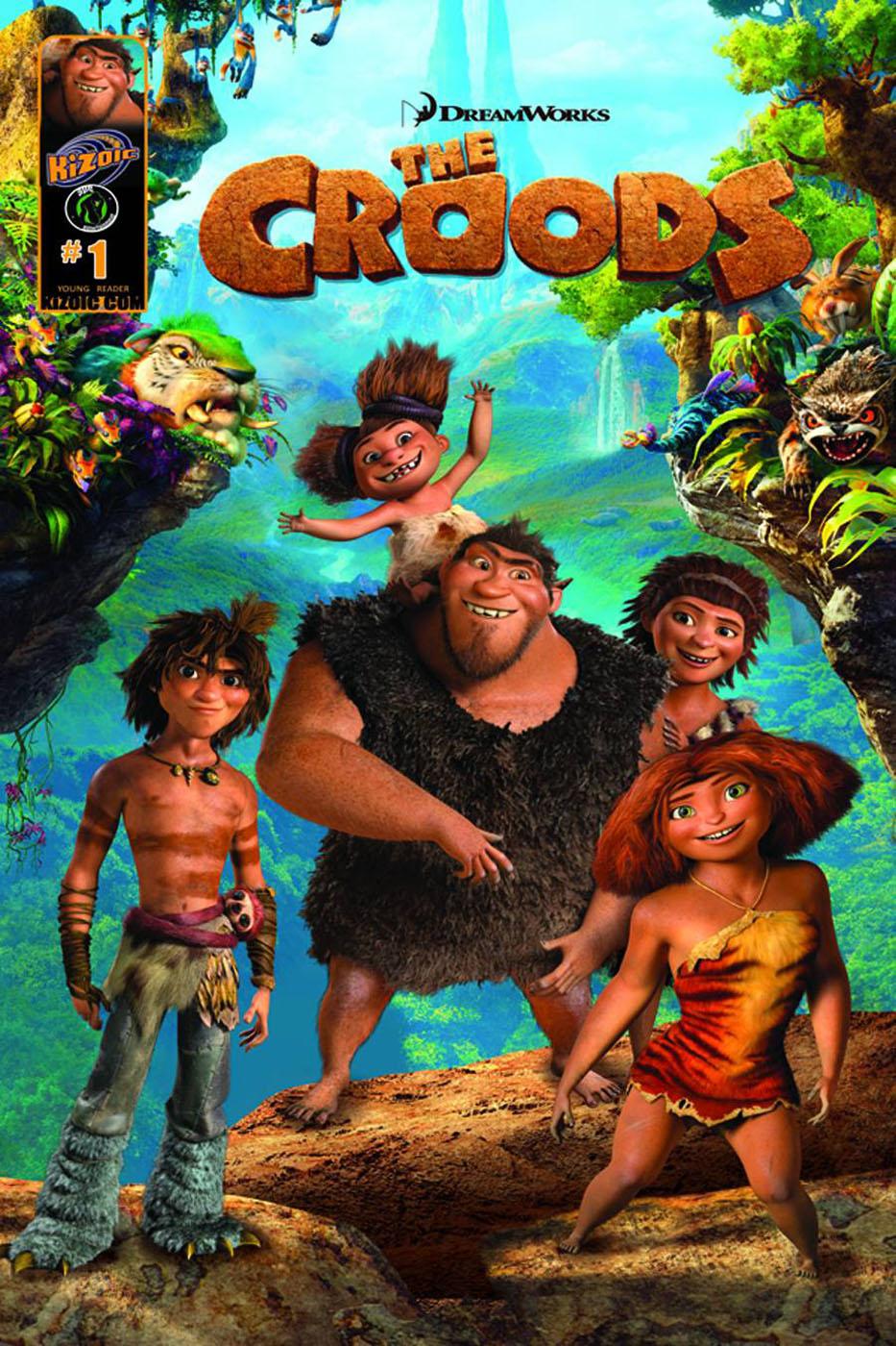 The Croods - Movie Poster #9 (Original)