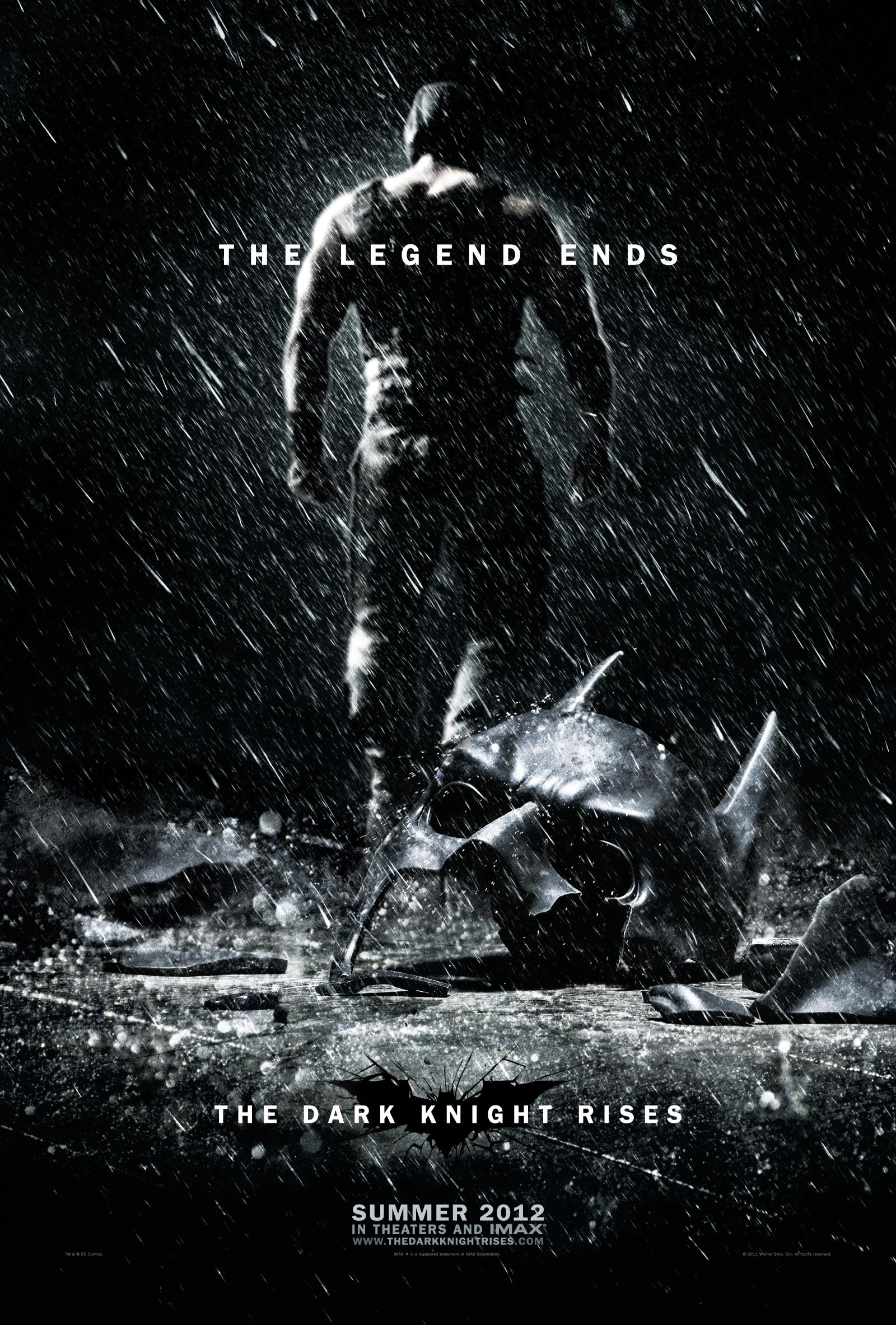 The Dark Knight Rises - Movie Poster #1 (Original)