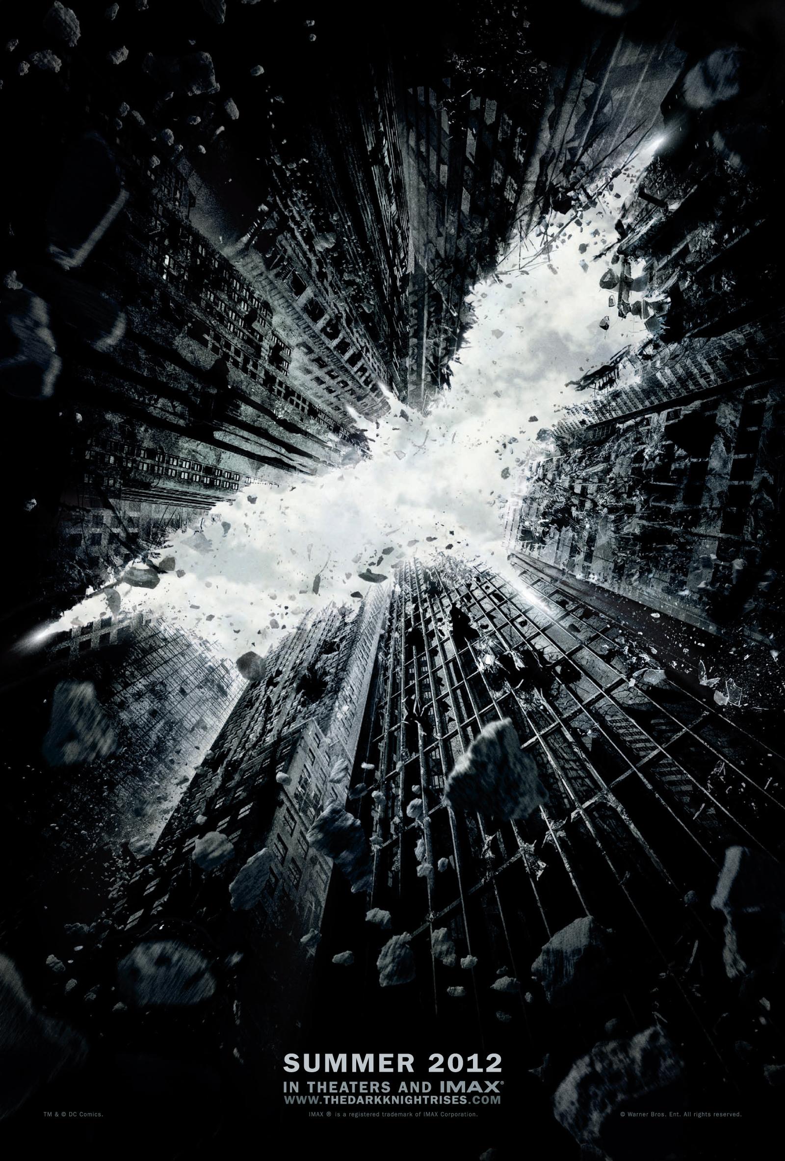 The Dark Knight Rises - Movie Poster #2 (Original)