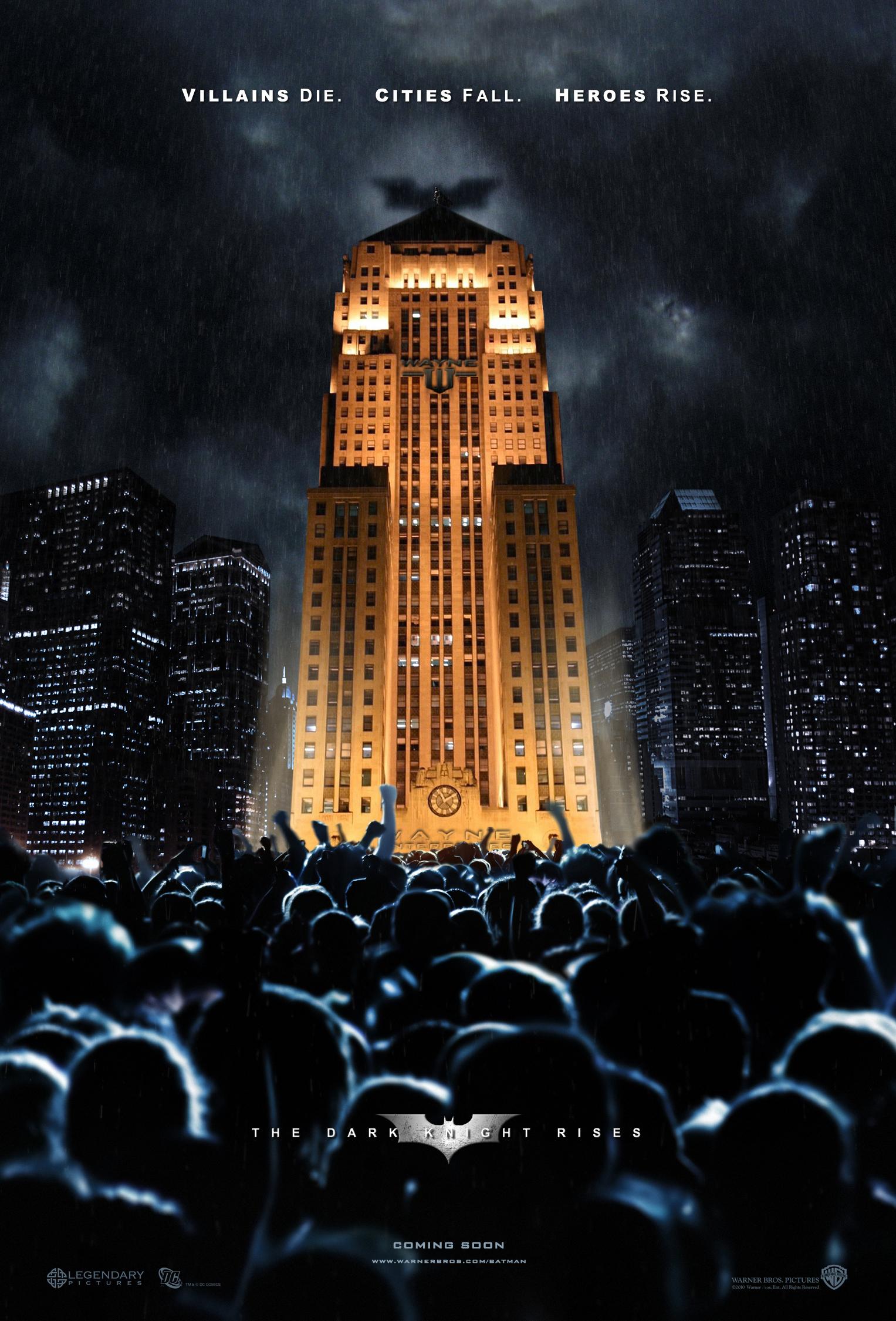 The Dark Knight Rises - Movie Poster #4 (Original)