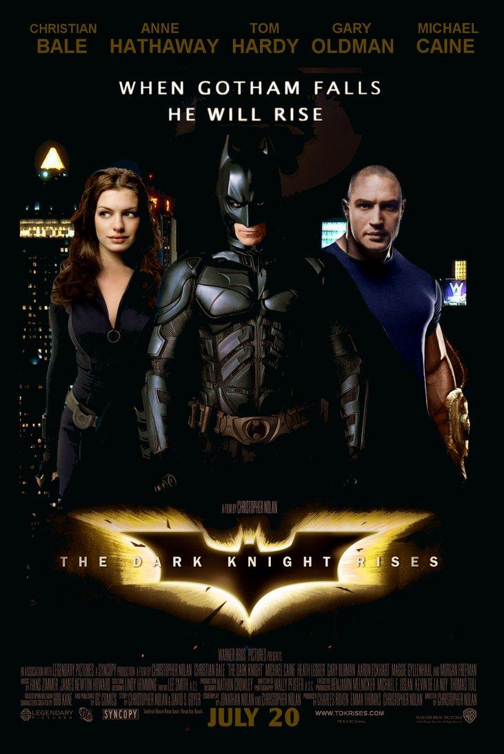 The Dark Knight Rises - Movie Poster #8 (Original)