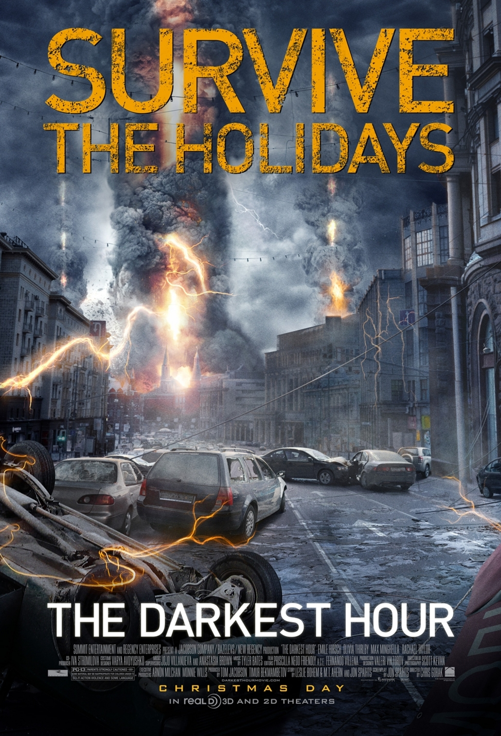 The Darkest Hour - Movie Poster #1 (Original)