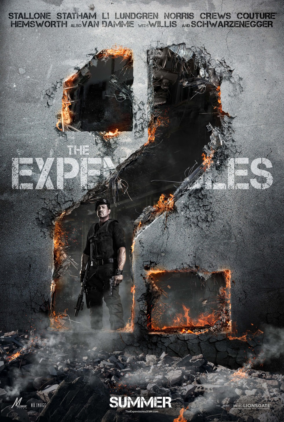 The Expendables 2 - Movie Poster #1 (Large)