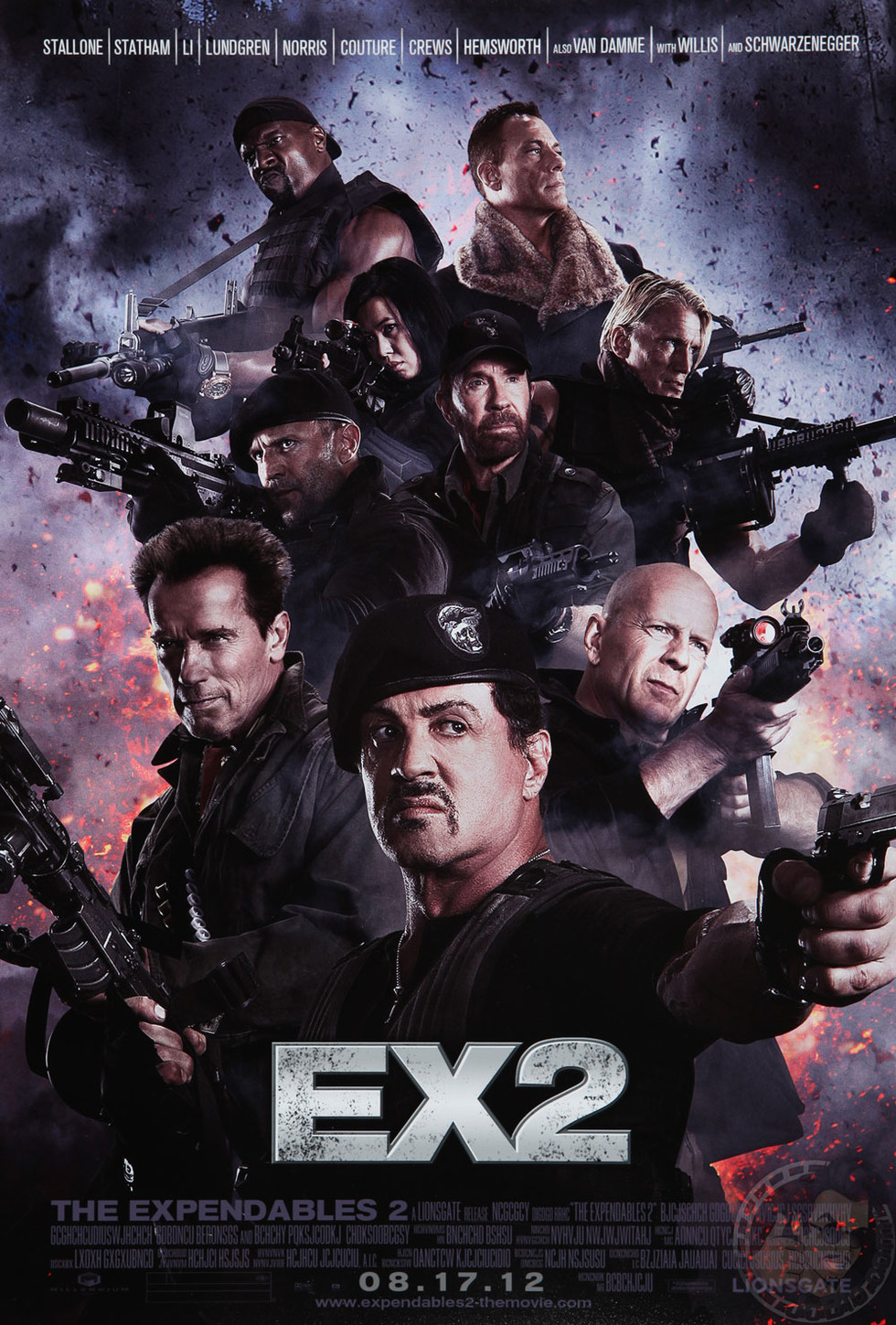 The Expendables 2 - Movie Poster #2 (Large)