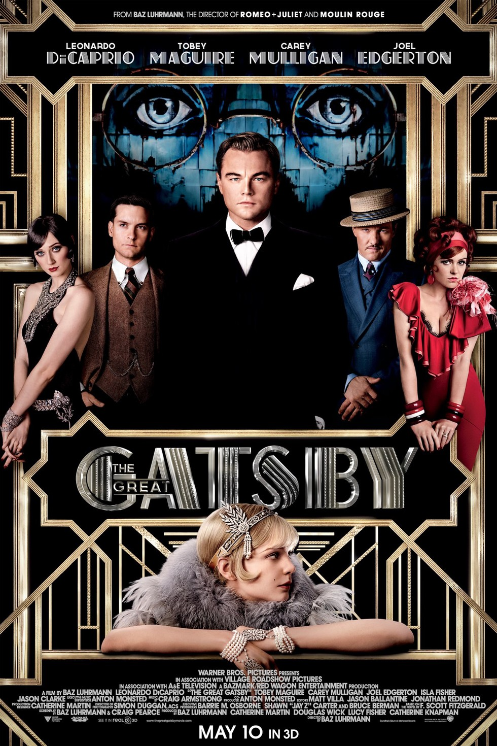 The Great Gatsby - Movie Poster #1 (Large)