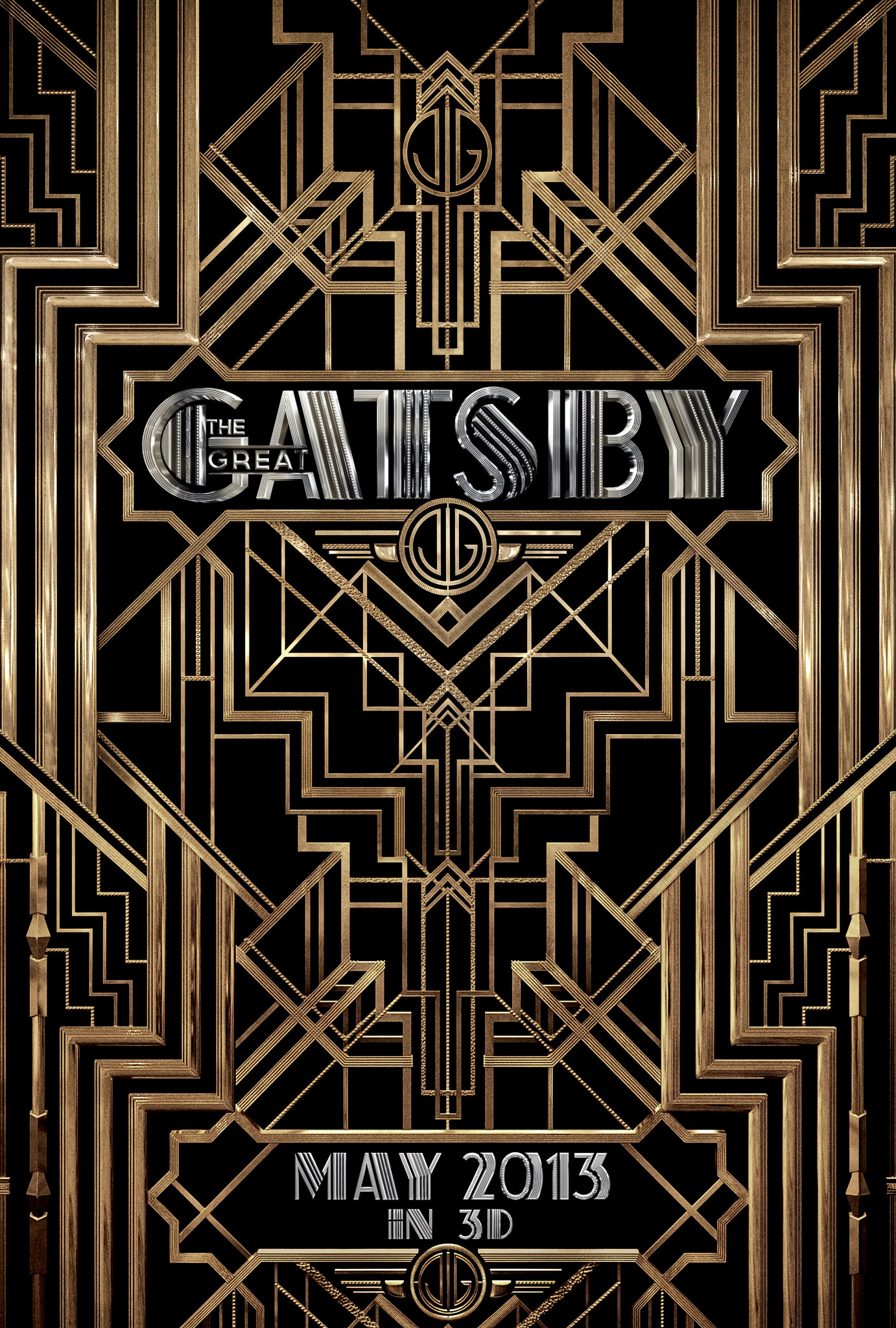 The Great Gatsby - Movie Poster #2 (Original)
