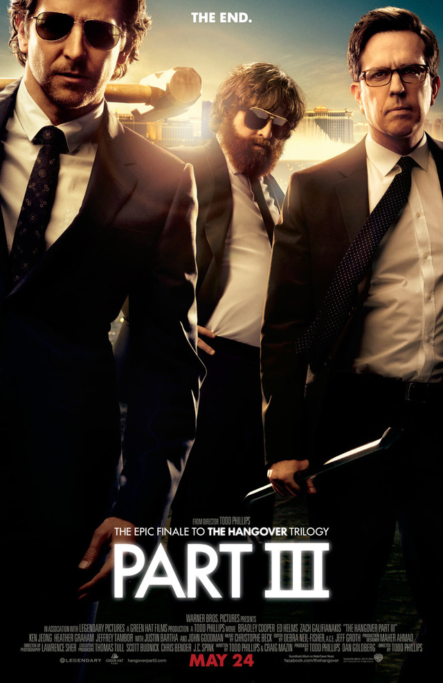 The Hangover Part III - Movie Poster #1