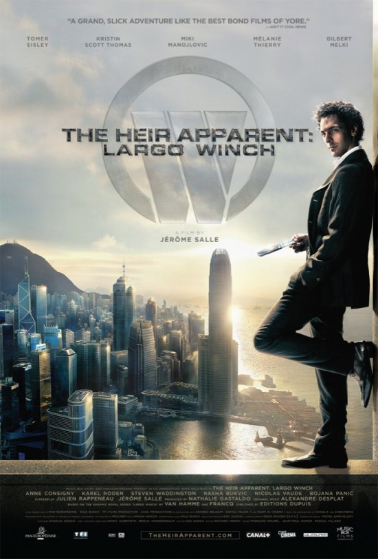 The Heir Apparent: Largo Winch - Movie Poster #1 (Original)