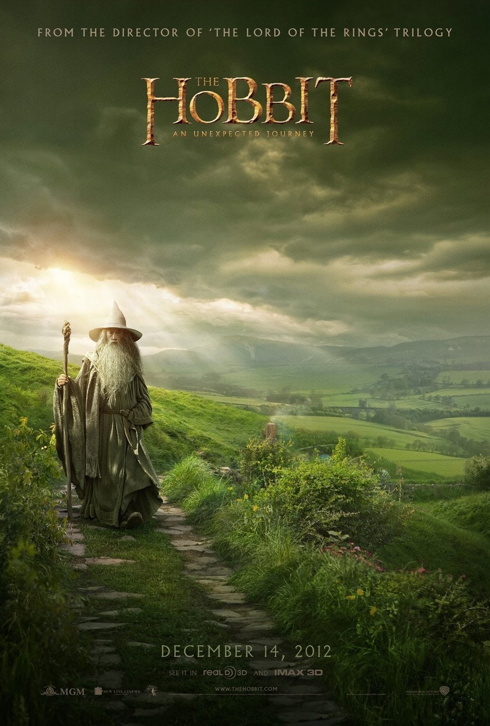 The Hobbit: An Unexpected Journey - Movie Poster #1 (Large)