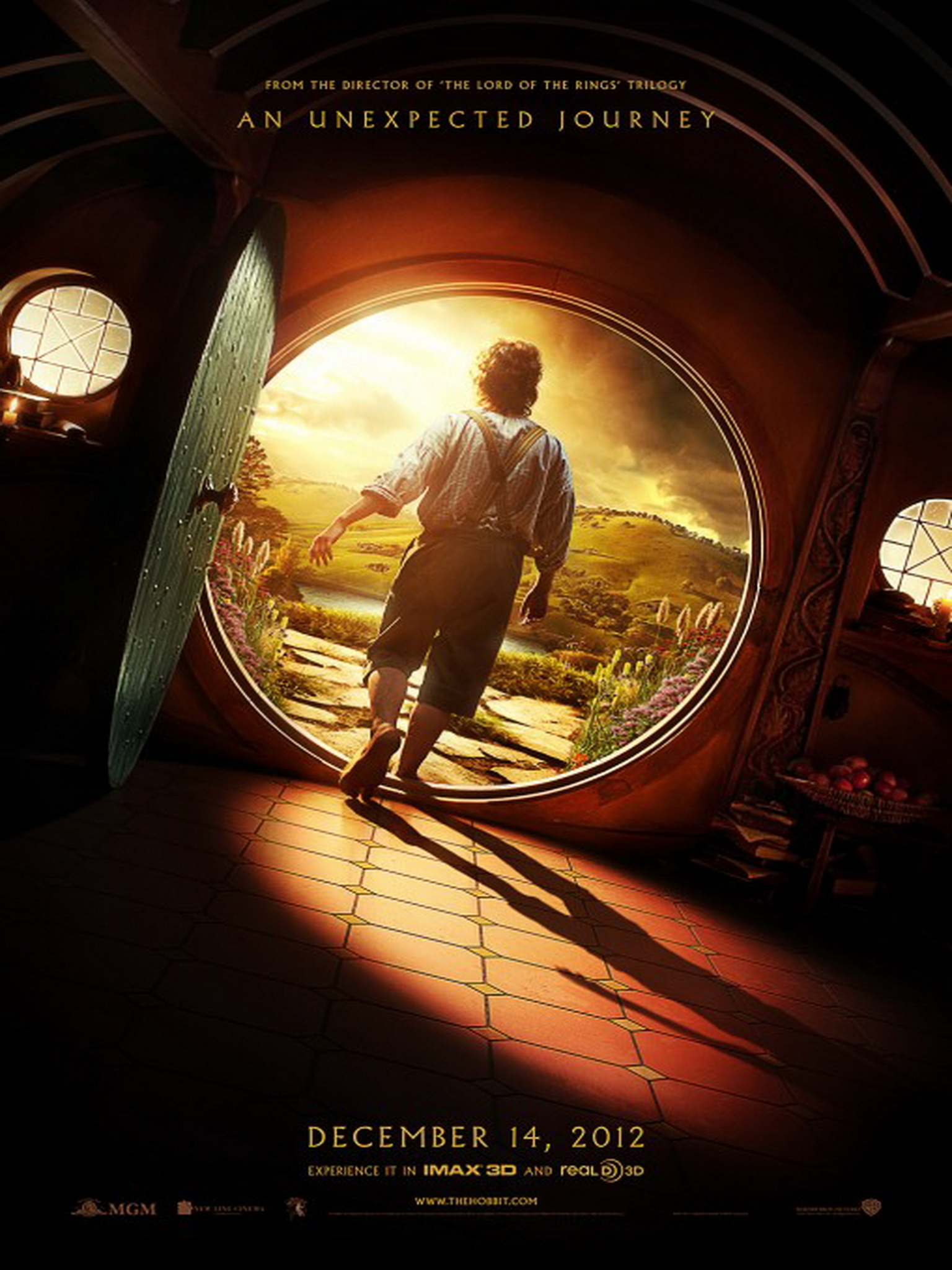 The Hobbit: An Unexpected Journey - Movie Poster #3 (Original)