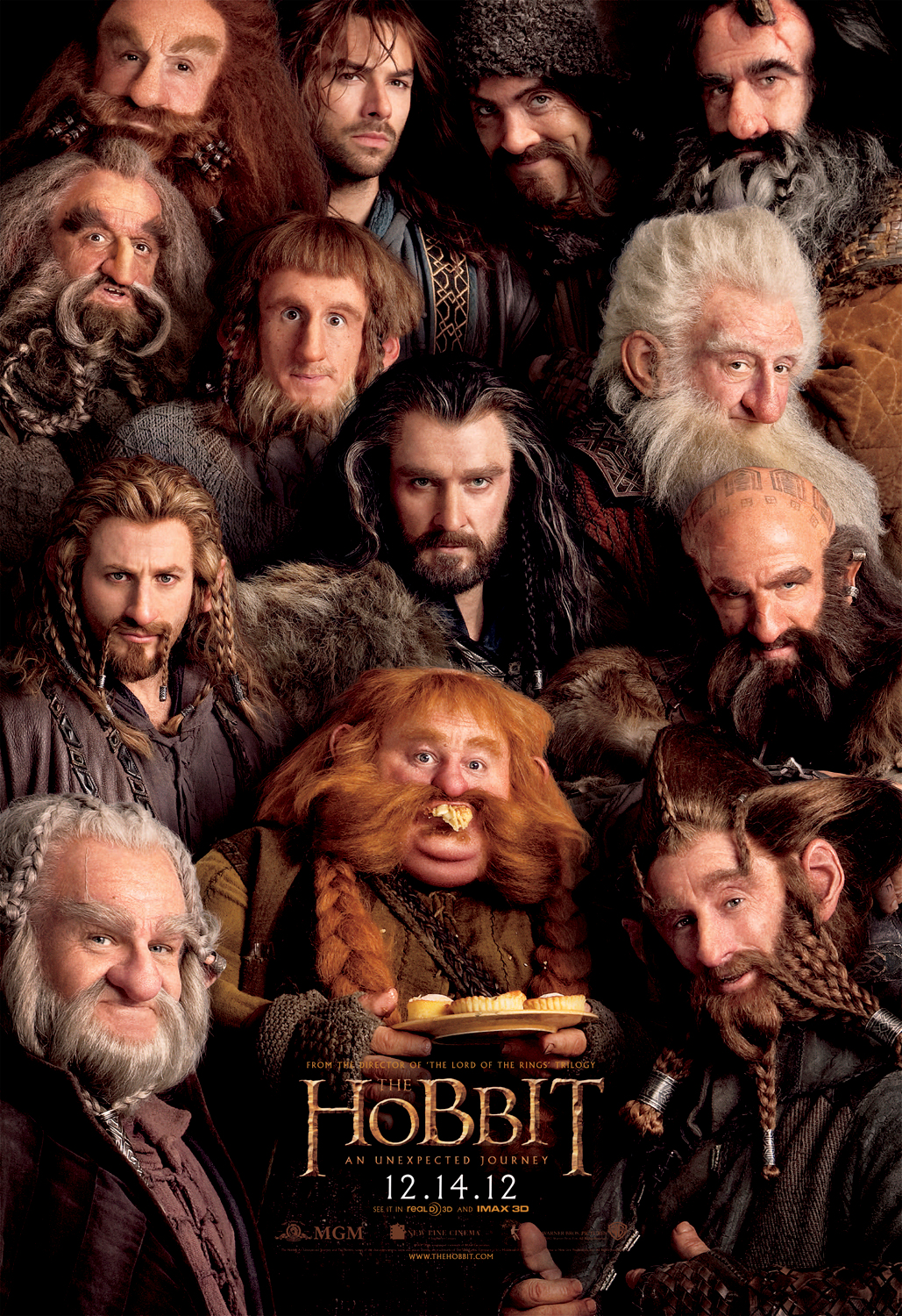 The Hobbit: An Unexpected Journey - Movie Poster #4 (Original)