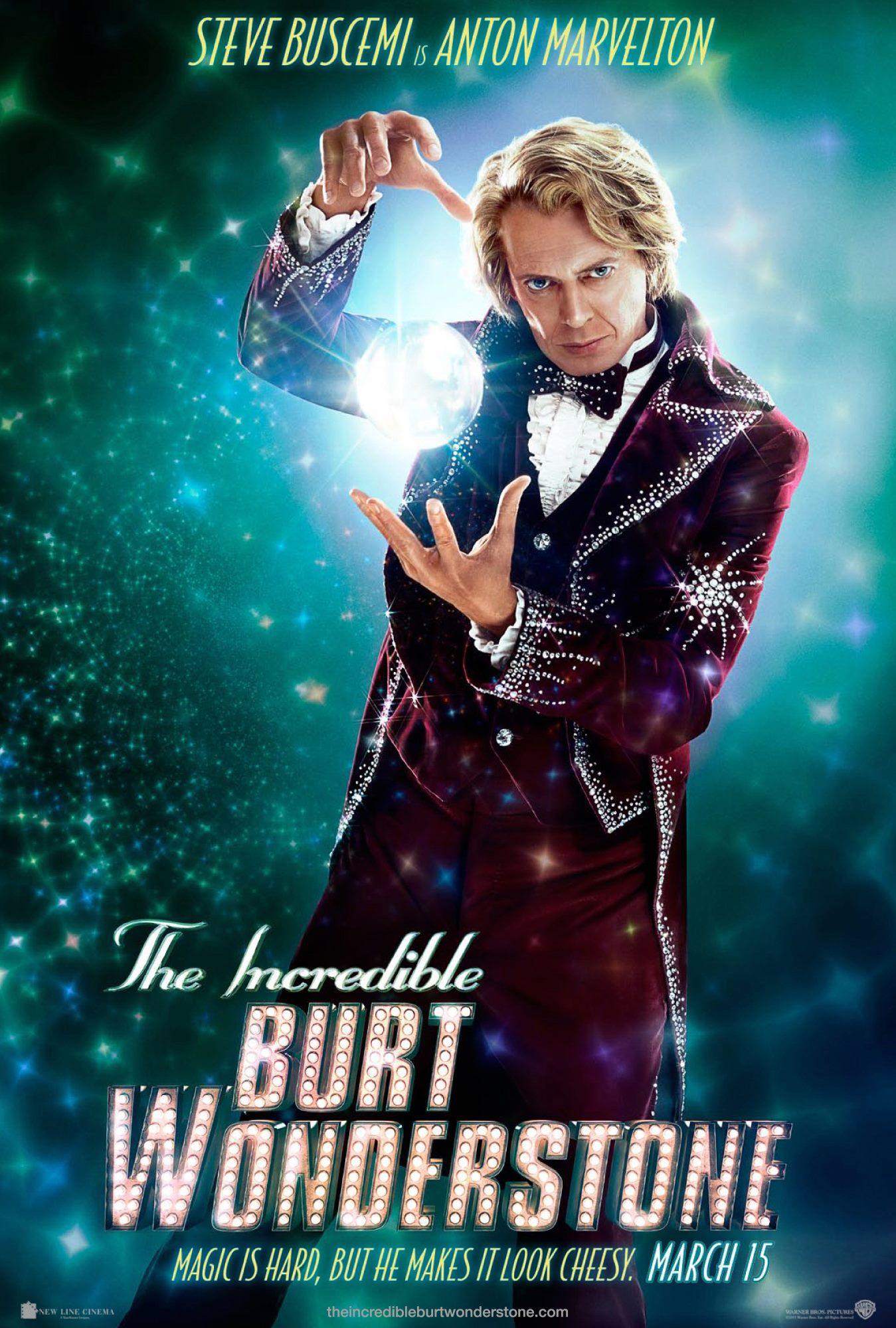 The Incredible Burt Wonderstone - Movie Poster #2 (Original)