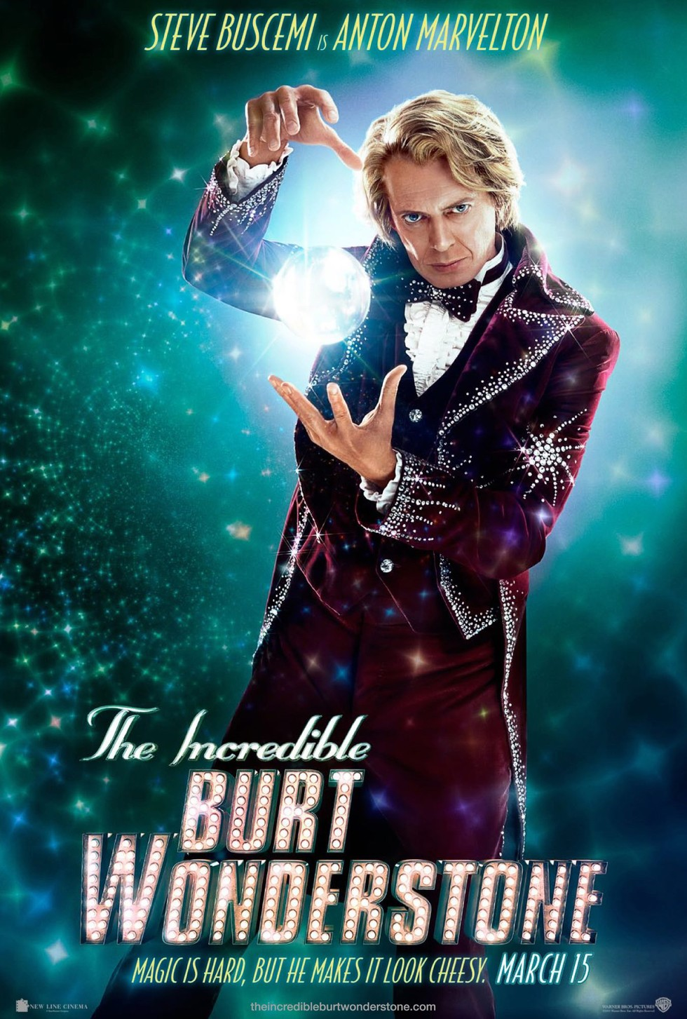 The Incredible Burt Wonderstone - Movie Poster #2 (Large)