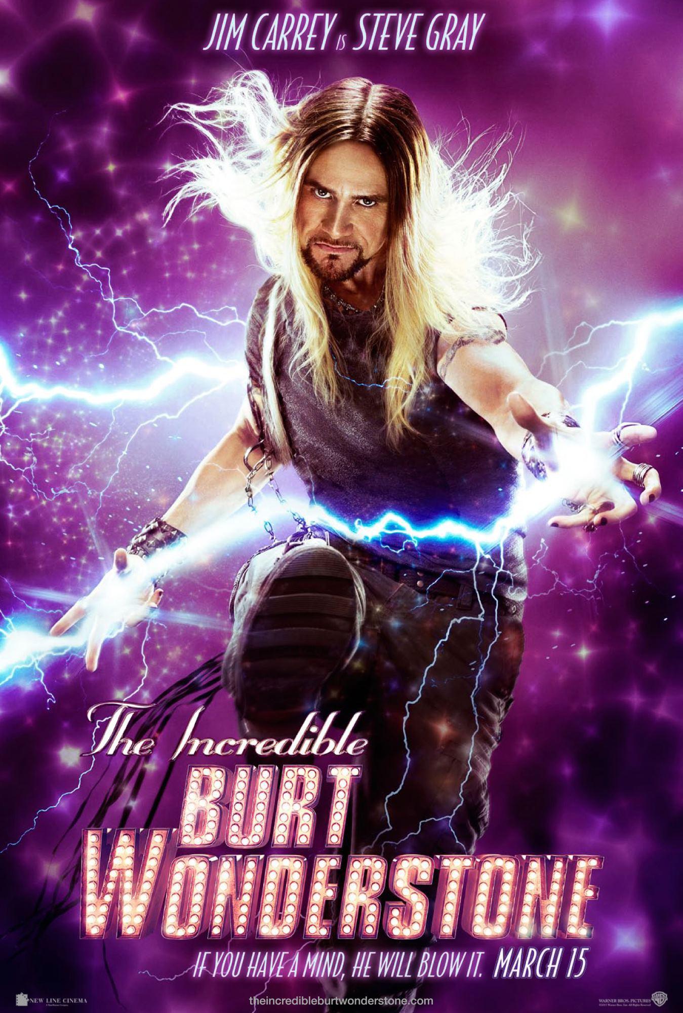 The Incredible Burt Wonderstone - Movie Poster #4 (Original)