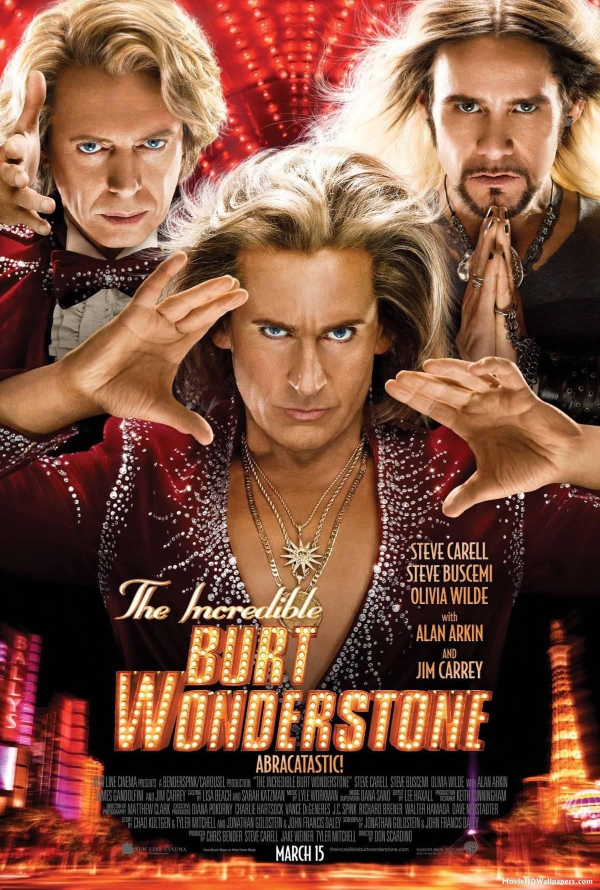 The Incredible Burt Wonderstone - Movie Poster #9 (Original)