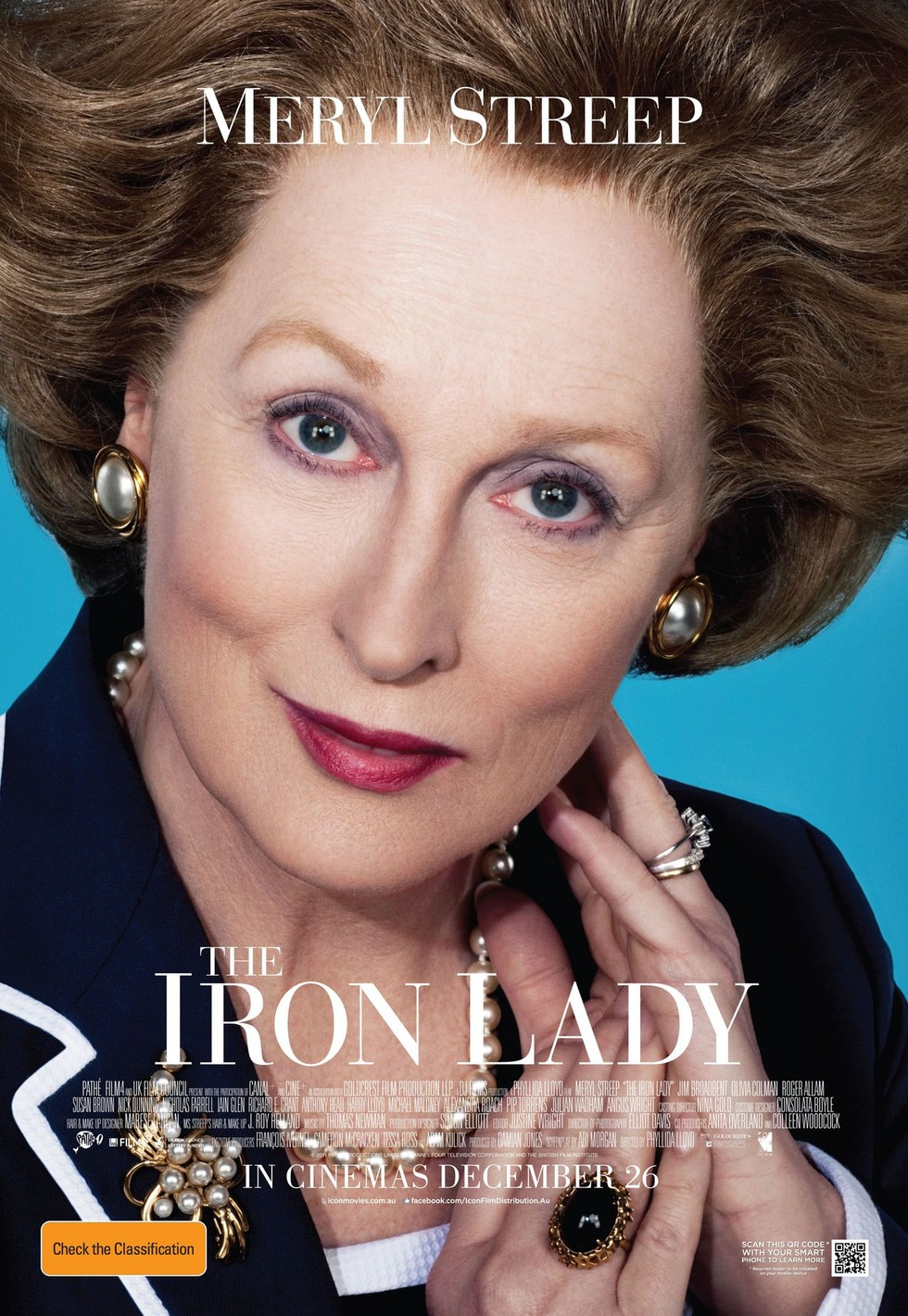 The Iron Lady - Movie Poster #1 (Large)